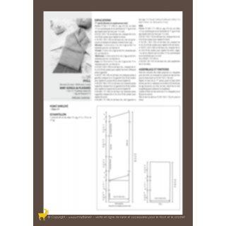 Modèle pull croisé 94-38 - Plassard