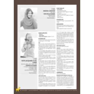 Modèle femme Modèle snood capuche 97-32