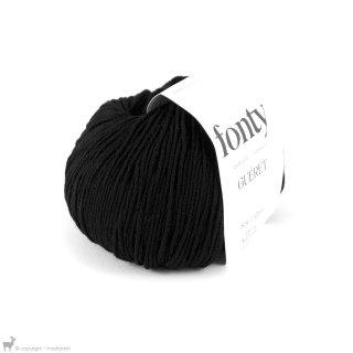 Laine mérinos Gueret Noir Réglisse 006 Bain 716