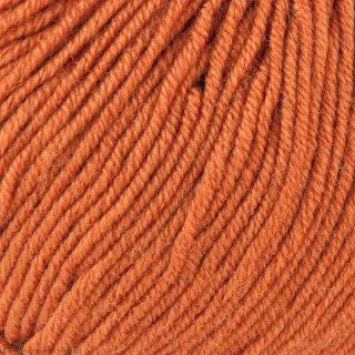 Laine mérinos Gueret Orange Rouille 028