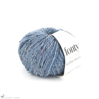 Super Tweed Bleu Arctique 009 - Fonty