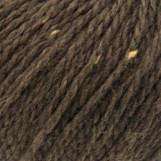 Laine mérinos Super Tweed Brun Coconut 003 Bain 201