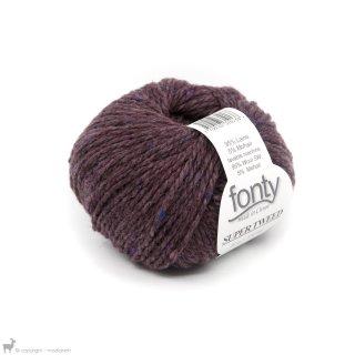 Laine mérinos Super Tweed Violet Vintage 014
