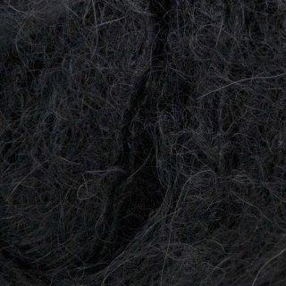 Laine d'alpaga Suri Noir Charbon 607