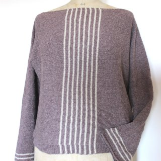 Modèle Pull Sea Sighting Sweater par Instants de Louise - Madlaine