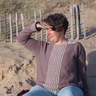 Kit Sea Sighting Sweater Modèle Pull Sea Sighting Sweater par Instants de Louise
