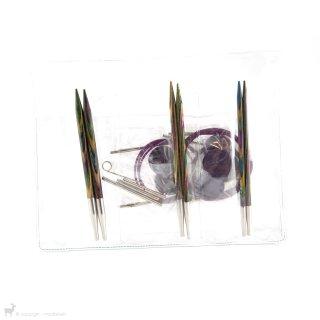 Aiguilles circulaires interchangeables Kit d'aiguilles circulaires Débutant Symfonie