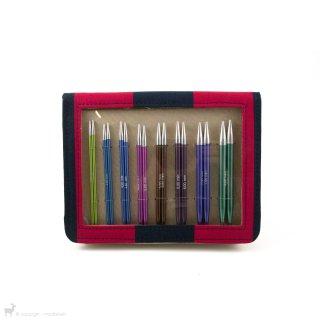 Aiguilles interchangeables Kit d'aiguilles circulaires Deluxe Zing Knit Pro