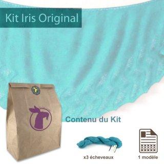 Kit Châle Iris Original Aqua Marine