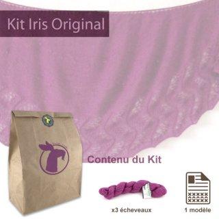 Kits femme Kit Châle Iris Original Pink Dreams