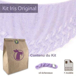 Kits femme Kit Châle Iris Original Lilac Nights