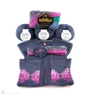 Gilet et bandeau pour bébés Glasgow - Madlaine