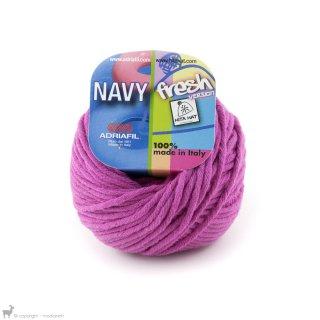Fil de coton Navy Rose Fucsia 62
