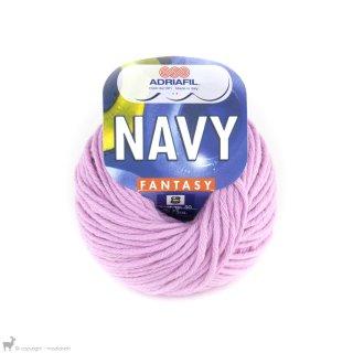 Fil de coton Navy Rose Guimauve 51