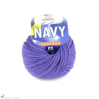 Fil de coton Navy Violet Pervenche 58