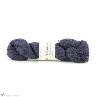 Laine de mouton Bio Balance Bleu BL014