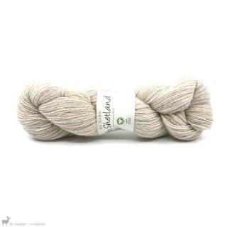 Light Fingering - 03 Ply Bio Shetland Blanc SH40