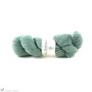 Laine de mouton Bio Shetland Bleu Jeans Délavé SH16
