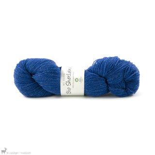 Laine de mouton Bio Shetland Bleu SH18