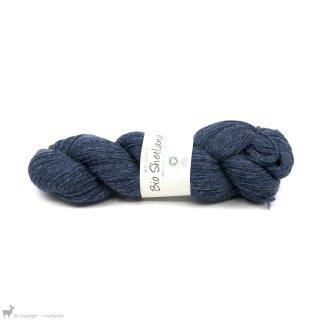 Laine de mouton Bio Shetland Bleu SH19