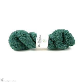 Laine de mouton Bio Shetland Vert Jonc SH12