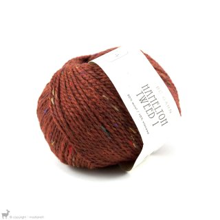 Laine de mouton Hamelton Tweed 1 Orange Cuivré HX10