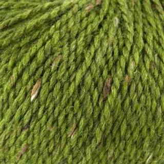 Laine de mouton Hamelton Tweed 1 Vert Pomme HX24