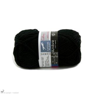 Fil de bambou Ambre Noir 012