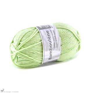 Laine de mouton Bamboulene Vert Anis 166