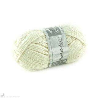 Laine de mouton Bamboulene Blanc Ficelle 059