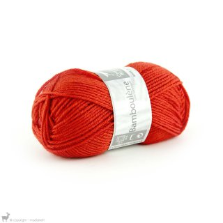 Laine de mouton Bamboulene Orange Piment 040