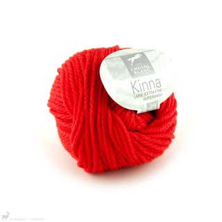 Laine de mouton Kinna Orange Piment 040