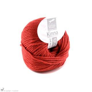 Laine de mouton Kinna Rouge Brique 150