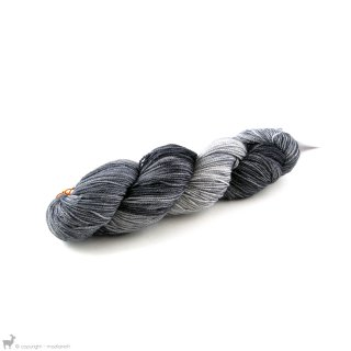 Dragon Sock Black Pearl - Dragonfly Fibers