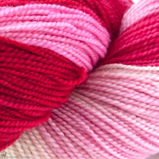 Dragon Sock Candy Cane - Dragonfly Fibers