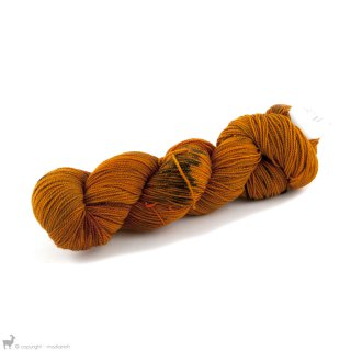 Dragon Sock Cognac - Dragonfly Fibers