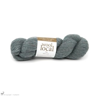 Laine de mouton Wool Local Bennett Pale Blue 801