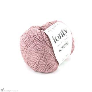 Fil de coton Bohème Rose Gitane 392