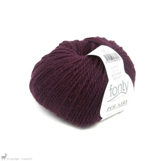 Laine d'alpaga Polaire Violet Bordeaux 630 Bain 904