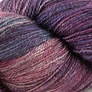 Fil de soie Gleem Lace Rouge Tweed Imp