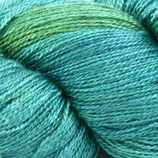 Gleem Lace Vert Sea Green - Fyberspates