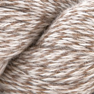 Eco-Llama Caramel/Blanc LE123 - Illimani Yarn