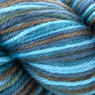 Laine d'alpaga Royal I Multicolore Bleu EX50