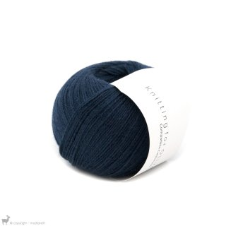Lace - 02 Ply Knitting For Olive Compatible Cashmere Navy Blue