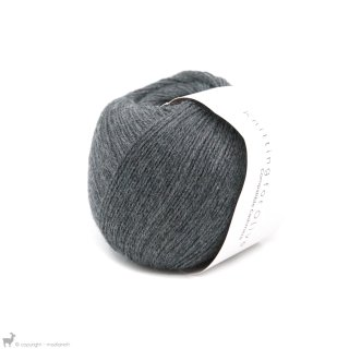 Lace - 02 Ply Knitting For Olive Compatible Cashmere Slate Grey