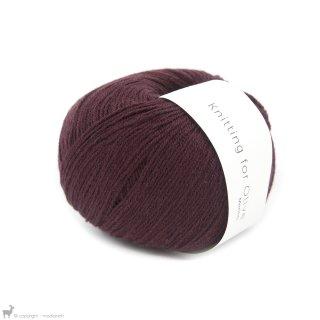 Light Fingering - 03 Ply Knitting For Olive Merino Bordeaux