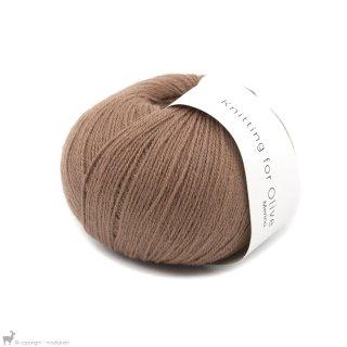 Laine mérinos Knitting For Olive Merino Brown Nougat