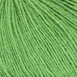 Light Fingering - 03 Ply Knitting For Olive Merino Clover Green