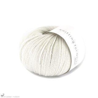 Light Fingering - 03 Ply Knitting For Olive Merino Cream