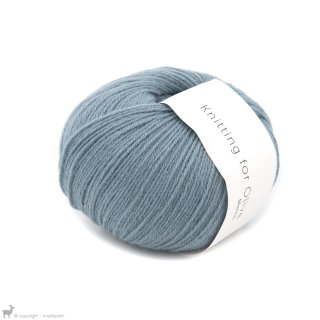 Laine mérinos Knitting For Olive Merino Dusty Dove Blue